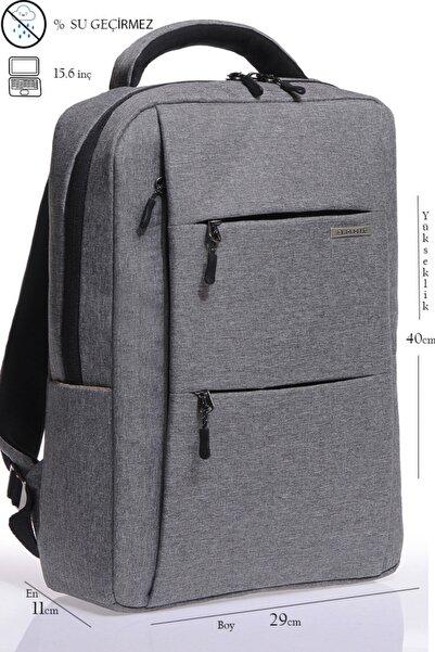 Sword Bag Yeni Nesil Açık Gri 15.6inç Laptop Sırt Çantası Sw310