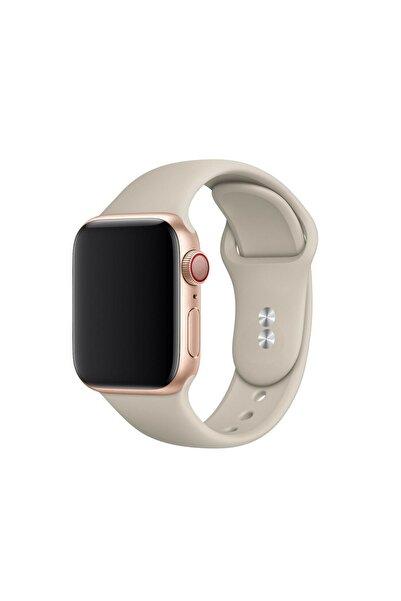 Bilişim Aksesuar S/m Beden Apple Watch 2 3 4 5 6 Uyumlu Se 38 Mm 40 Mm Spor Sililkon Kordon