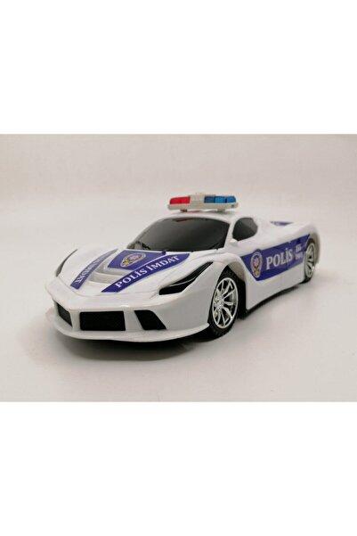 Duman Oyuncak Full Fonksiyon Uzaktan Kumandalı Pilli Panter Polis Arabası