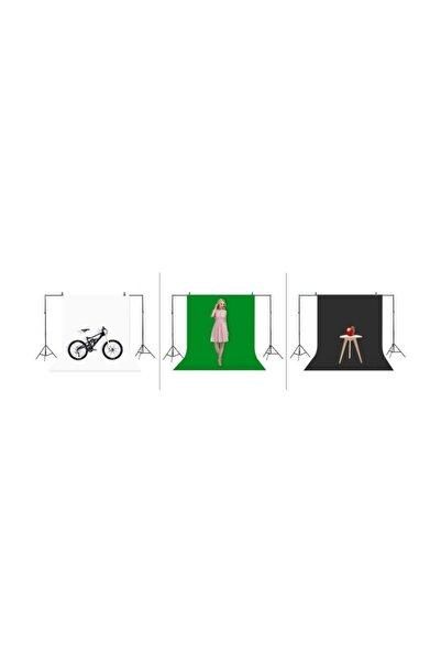 ADA GREENBOX Chromakey-green Screen- Greenbox Yeşil Fon Perde(2x3 M) + Fon Standı