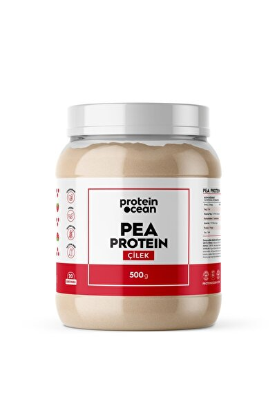 Proteinocean PEA PROTEIN - Çilek - 500g - 20 servis