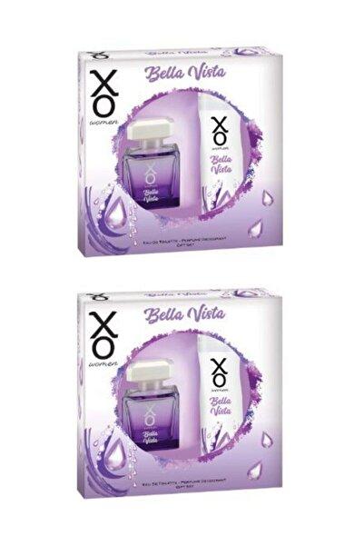 Xo Bella Vista Women Edt 100 Ml + Deodorant 125 Ml X 2 Adet