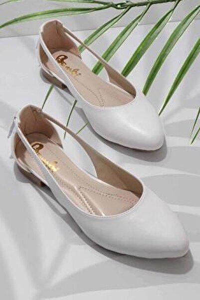 Beyaz Kadın Babet K01885010309