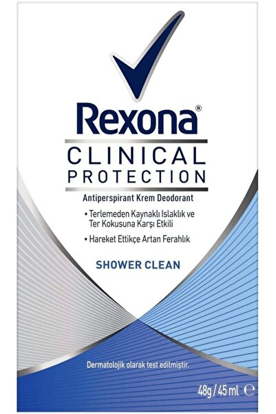 Rexona Clinical Protection Shower Clean Deodorant 45 ml