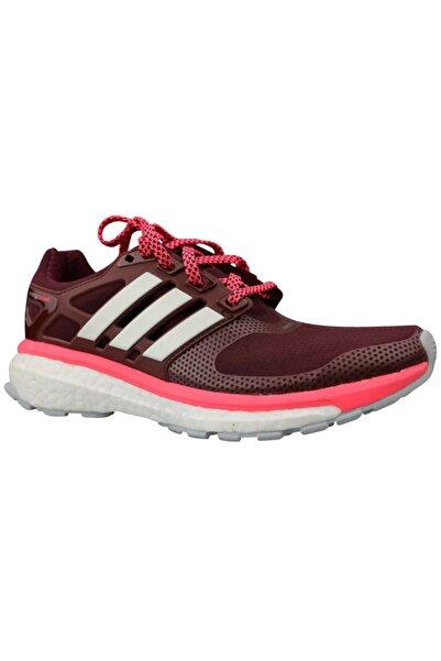 adidas Energy Boost 2 Bordo Kadın Koşu Ayakkabısı B23151