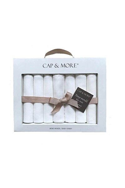 Capps Cap&more Bebek Ekru Ağız Mendili Seti 7 Li Paket