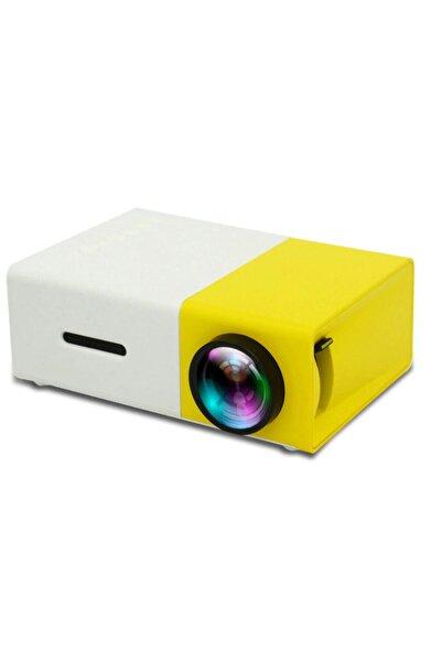 ttoysworld Mini Projektör 480x272 Piksel 1080p HDMI USB