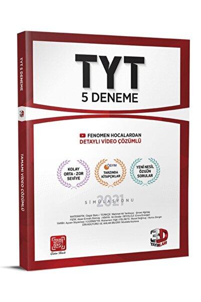 3D Yayınları 3d Tyt 5'li Deneme 2021 Denem