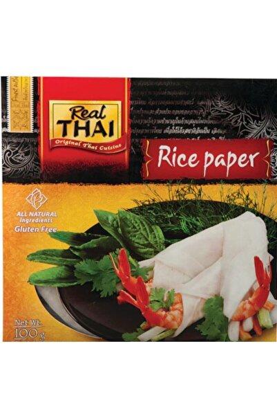 Real Thai Pirinç Yufkası (rice Paper) 22cm 100 Gr