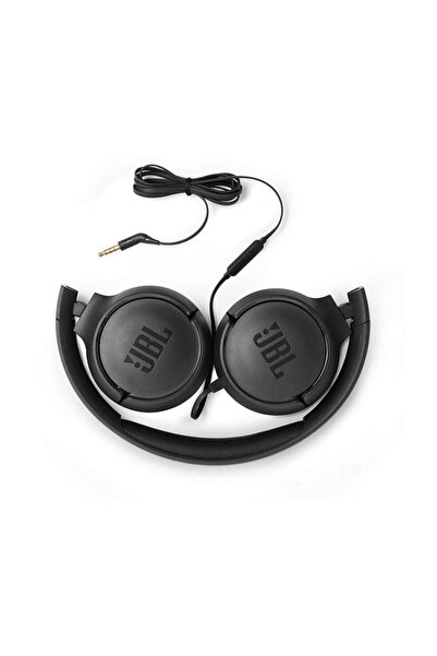 JBL T500 Kablolu Kulak Üstü Kulaklık Siyah