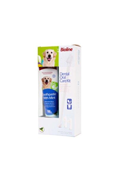 Bioline Nane Aromalı Köpek Ağız Temizleme Jeli +diş Fırçası 100gr