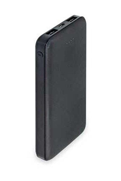 10000 Mah Slim Powerbank-siyah