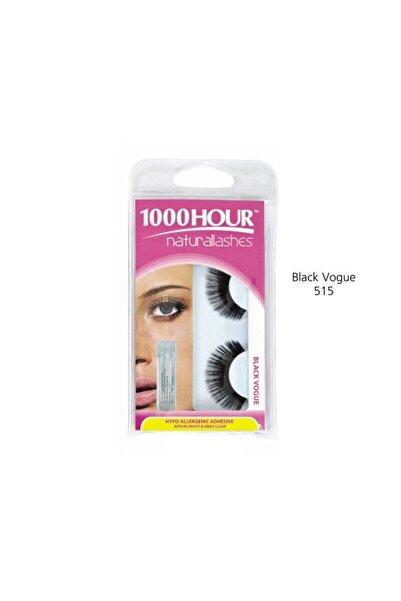 1000Hour Doğal Takma Kirpik - Black Vogue 9313312075156