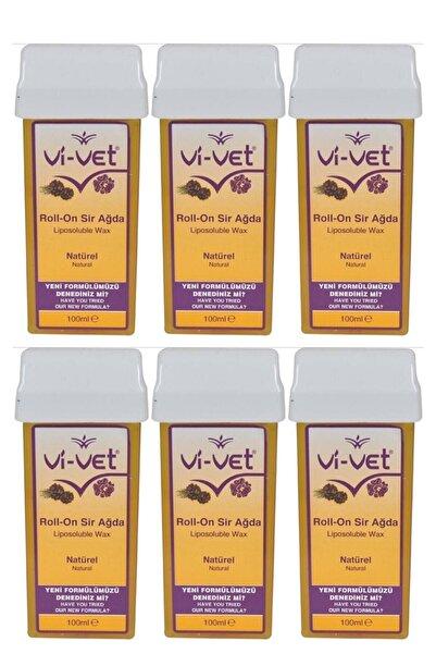 Vi-vet Natural Kartuş Sir Ağda 100 ml 6'lı Set
