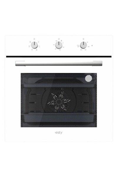 Esty Beyaz Turbolu Multifonksiyon Ankastre Fırın 6602w01