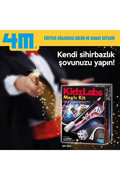 4M Çocuk Sihirbazlık Seti - Magic Set 3215