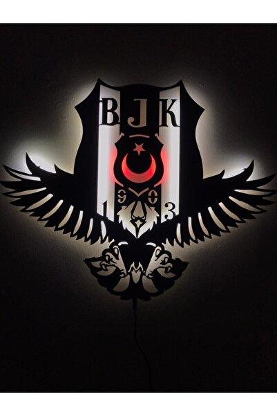 dekoraven Beşiktaş Kartal Led Işıklı Tablo