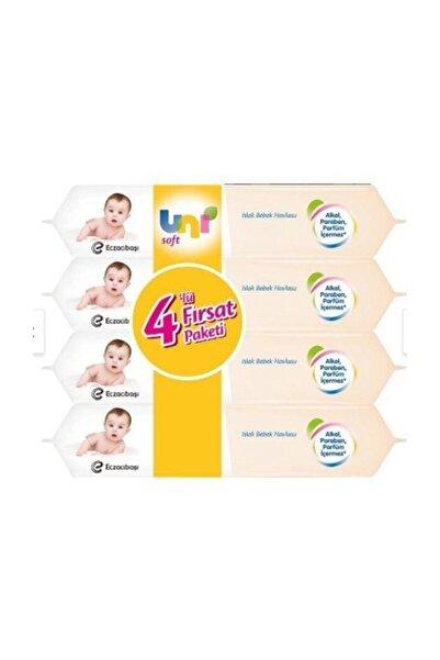Uni Soft Sensitive Islak Havlu 4'lü Fırsat Paketi (4x56 = 224 Yaprak)