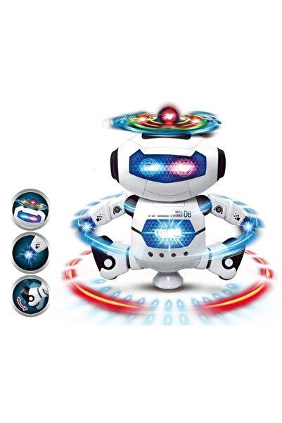 Kızılkaya Oyuncak Işıklı Sesli Dans Eden Oyuncak Robot Pervaneli
