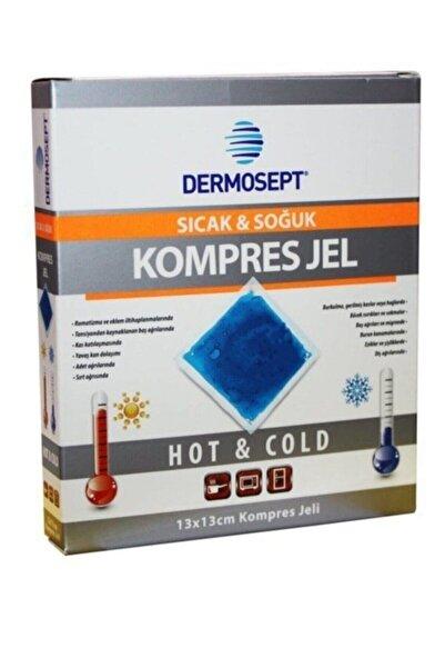 DERMOSEPT Sıcak Soğuk Termo Jel Kompres Buz Jel 4 Adet: 13x13