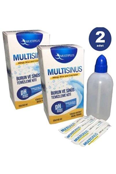 Multiplus Multi Sinüs Rinse Burun Ve Sinüs Temizleme Kiti X 2 Adet