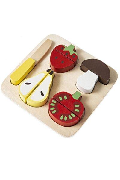 Soobe Ahşap Puzzle Meyve Dilimleri Oyuncak