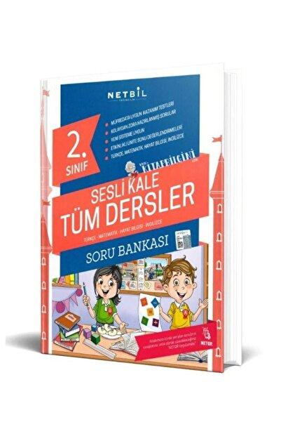 Bilfen Yayıncılık Netbil Yayınları 2. Sınıf Sesli Kale Tüm Dersler Soru Bankası