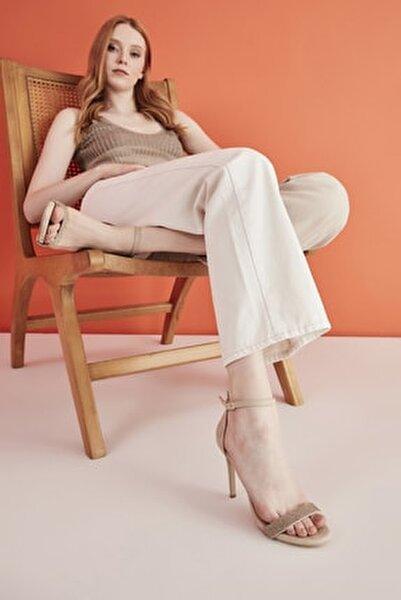 Bej Kadın Sandalet 01SAY207540A312