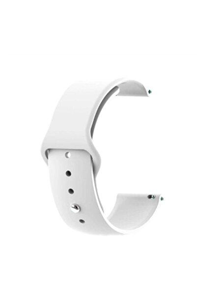 GTC Xiaomi Amazfit Bip Akıllı Saat Uyumlu Beyaz Silikon Kordon (20mm)