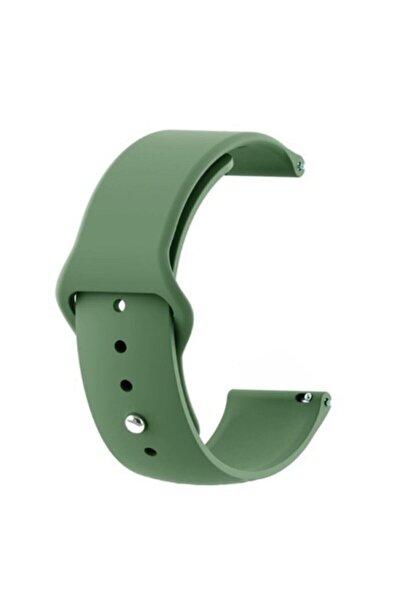 GTC Xiaomi Amazfit Bip Akıllı Saat Uyumlu Yeşil Silikon Kordon (20mm)