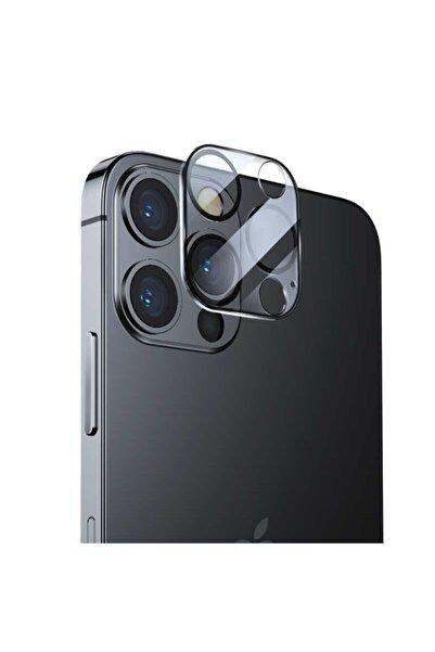 Telehome Iphone 12 Pro Uyumlu Integrated Kamera Lens Koruyucu Cam