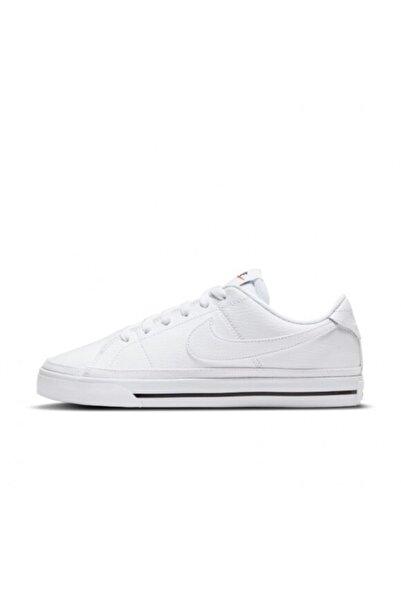 Nike Unisex Beyaz Court Legacy Spor Ayakkabı