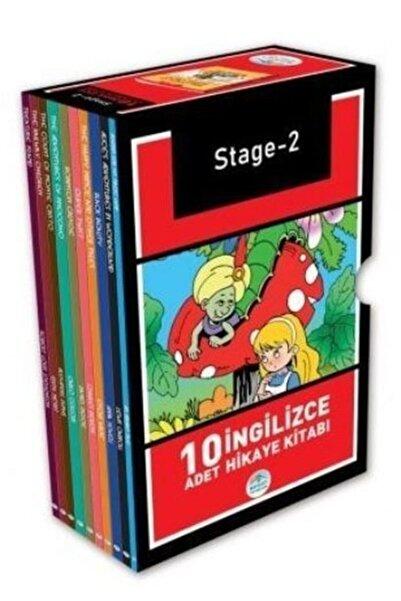 Mavi Çatı Yayınları Stage - 2 Ingilizce Hikaye Seti (10 Kitap Kutulu)