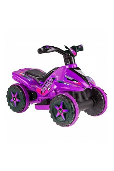 Mashotrend Mor Renk Akülü Atv - Akülü Çocuk Arabası - Akülü Motorsikleti - Mor Kamarot Atv - Akülü Araba