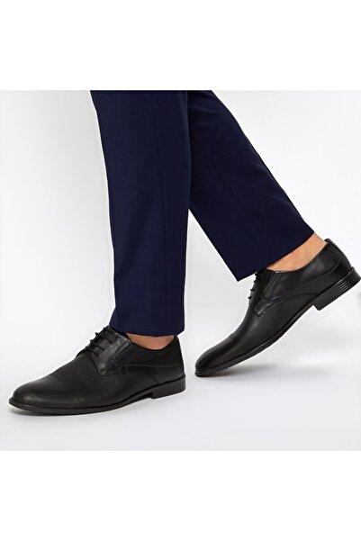 Garamond Lst-1 Siyah Erkek Klasik Ayakkabı