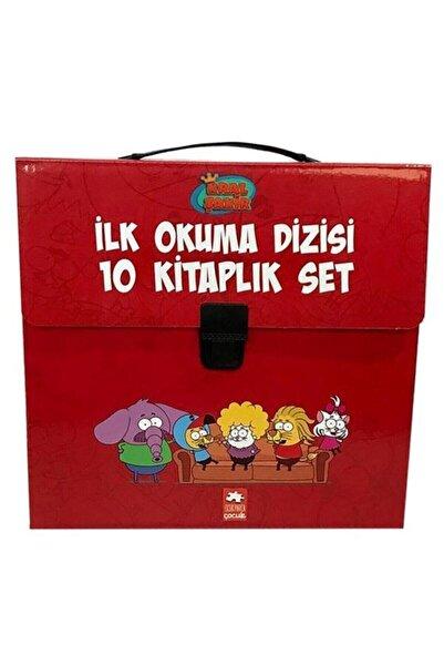 Eksik Parça Yayınları Kral Şakir Ilk Okuma Kitabı 10'lu Set  Ve Çantalı