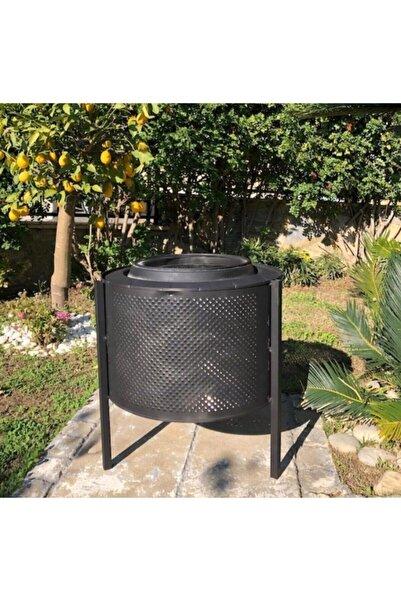 Çınarlüks Bahçe Şöminesi Ateş Kovası Estetik Ve Şık Mekanlarınız Için