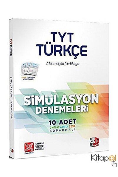 Çözüm Yayınları Tyt Türkçe Tamamı Video Çözümlü Simülasyon Denemeleri Yeni