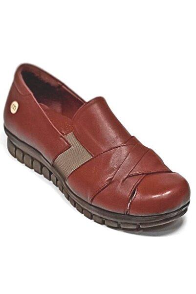 Mammamia Kadın Hakiki Deri Anatomik Tabanlı  Ayakkabı