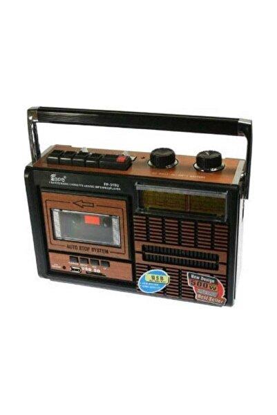 Knstar Fp 319 Retro Usb Fm Radyo Kaset Çalar