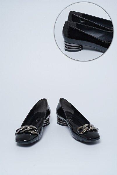 Buffalo Kadın Ainsley Siyah Babet Ayakkabı
