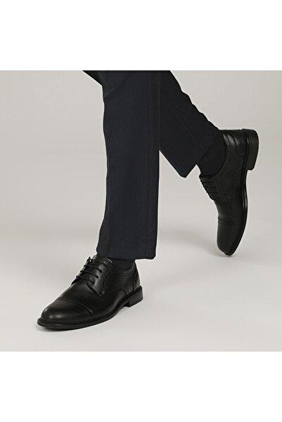 Downtown 031-2 1FX Siyah Erkek Klasik Ayakkabı 100787921