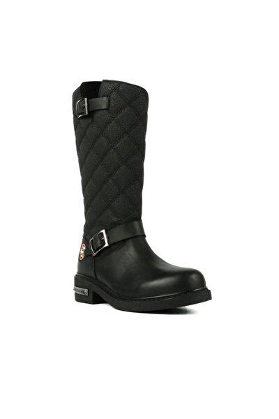 Hammer Jack Kadın Siyah Çizme 102 15980-z