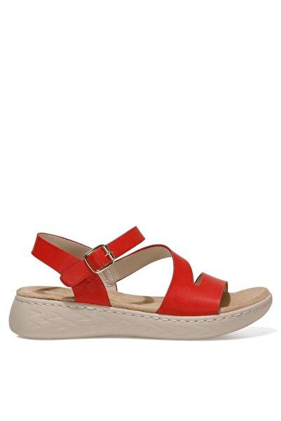 Nine West MARGARET 1FX Kırmızı Kadın Kalın Tabanlı Sandalet 101008447