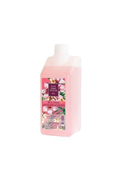 Eyüp Sabri Tuncer Japon Kiraz Çiçeği Kolonyası 1 Lt - Koruma Kilitli Kapak