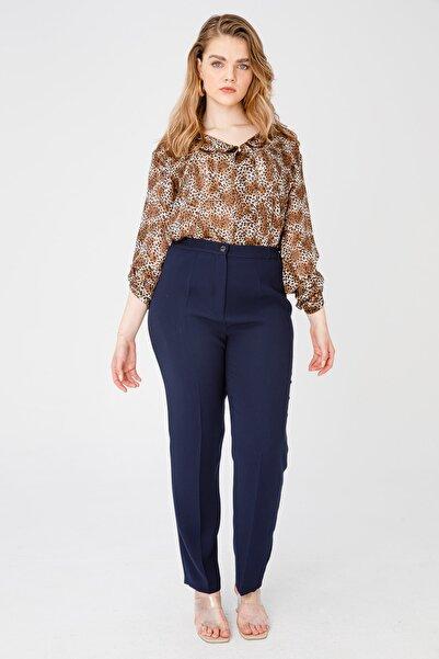 Ekol Kadın Lastikli Bol Paça Pantolon