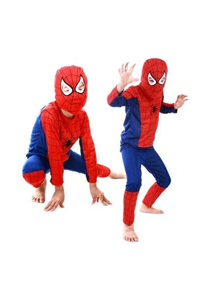 kostümx Örümcek Adam Spiderman Kostümü 3-5 Yaş S Beden