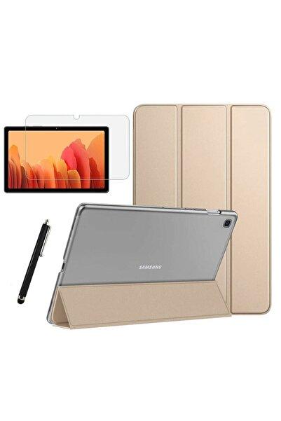 Samsung Galaxy Tab A7 T500 T505 T507 Uyumlu Smart Cover Tablet Kılıfı + Ekran Koruyucu + Kalem