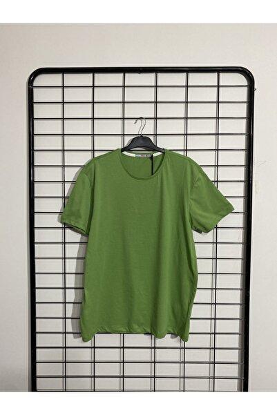Phazz Brand Erkek Yeşil Büyük Beden T-shirt