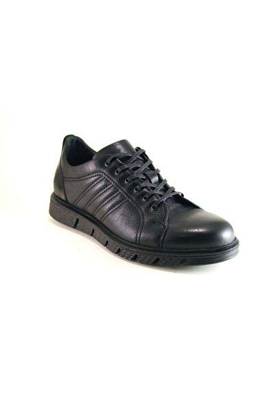Libero Erkek Siyah Hakiki Deri Erkek Günlük Ayakkabısı Cleysmen 284